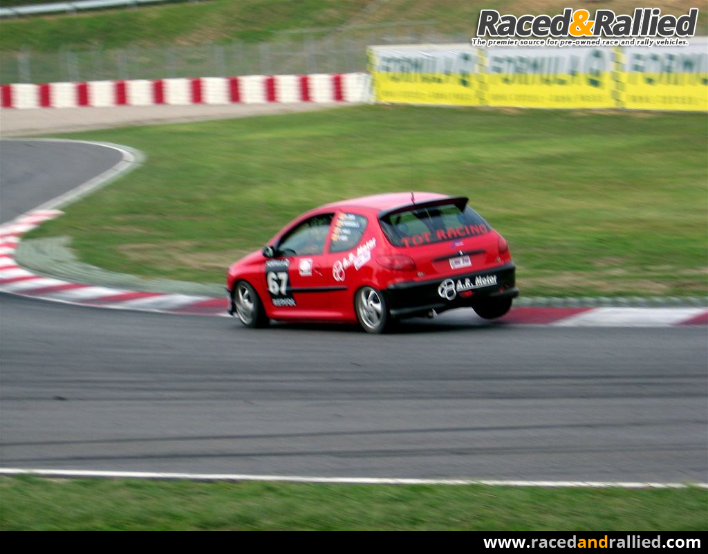 e6ffdf827 Peugeot 206 RC Gr.N | Race Cars for sale at Raced & Rallied | rally ...