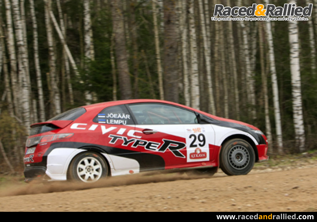Honda Civic Type R for sale | Rally Cars for sale at Raced & Rallied | rally cars for sale, race ...