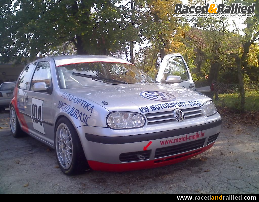 VW GOLF IV | Race Cars for sale at Raced & Rallied | rally ...
