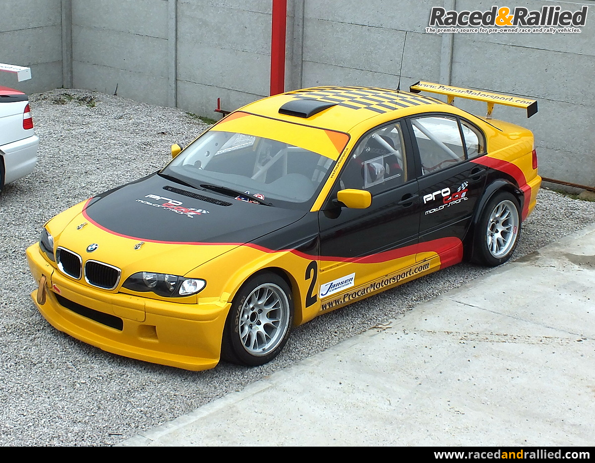 bmw e46 320i dtc etcc wtcc race cars for sale at raced rallied rally cars for sale. Black Bedroom Furniture Sets. Home Design Ideas