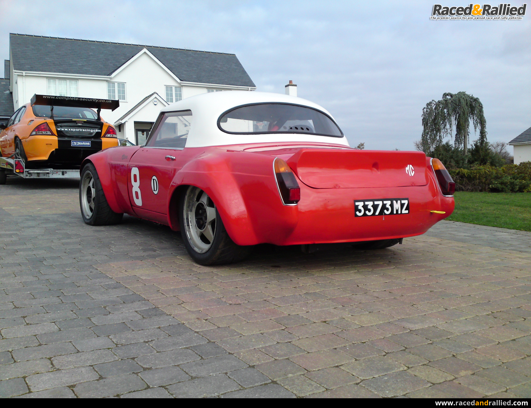1966 MGB V8 Roadster | Race Cars for sale at Raced & Rallied | rally ...