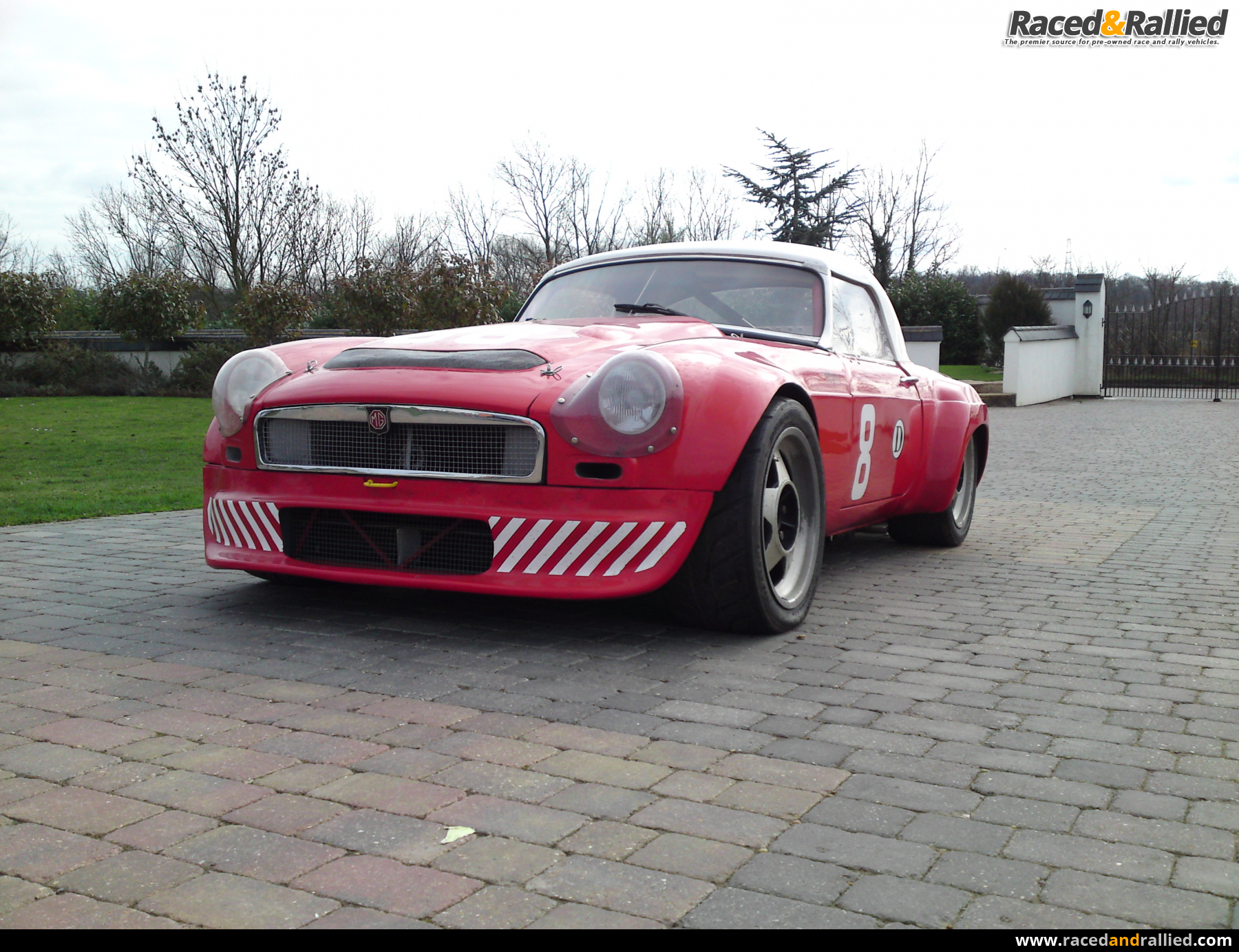 1966 MGB V8 Roadster | Race Cars for sale at Raced & Rallied