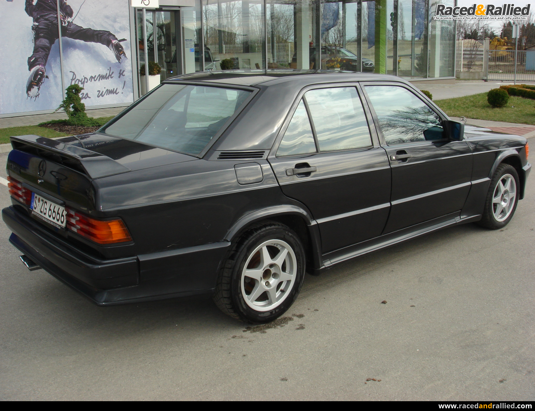 mercedes 190e 2 3 16 amg performance trackday cars for sale at raced rallied rally cars. Black Bedroom Furniture Sets. Home Design Ideas