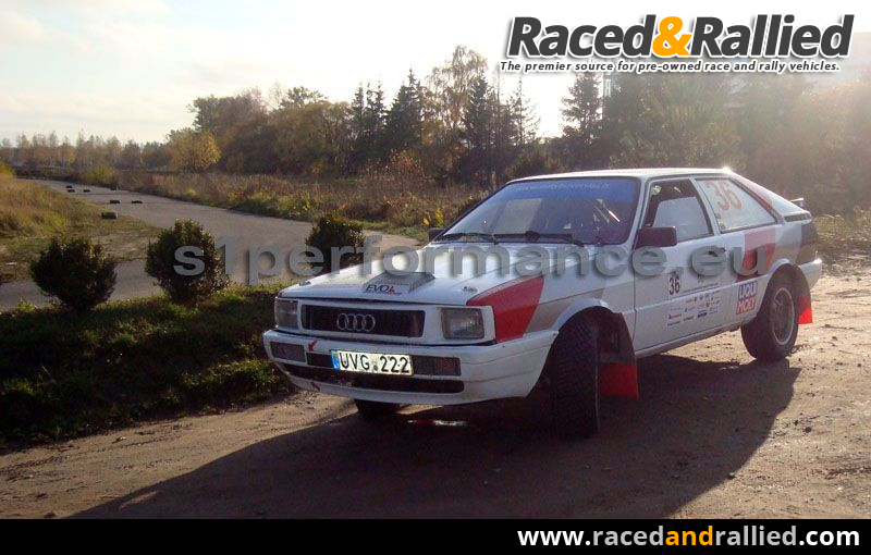 AUDI COUPE QUATTRO FOR SALE Rally Cars For Sale At Raced Rallied - Audi quattro coupe for sale