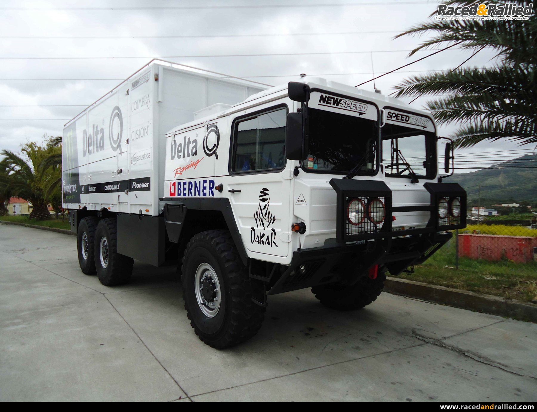 Classic 4X4 Trucks For Sale >> MAN KAT1 - Service Truck | Trailers & Transporters for sale at Raced & Rallied | rally cars for ...