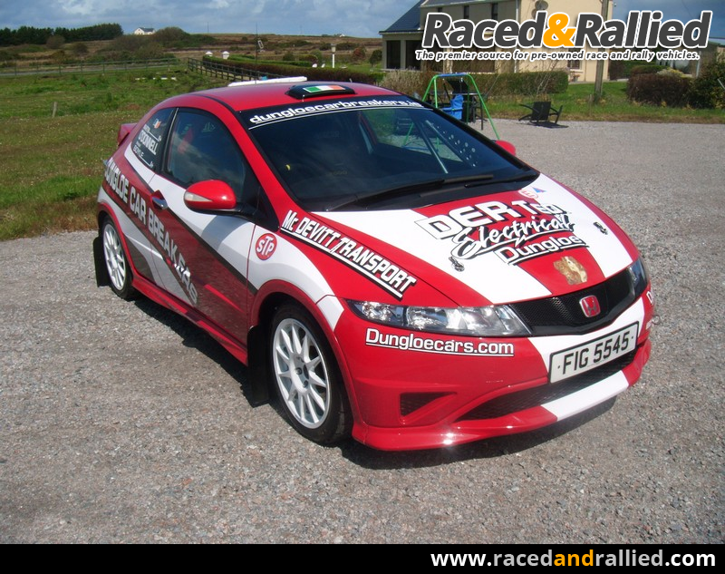 2011 Rally Honda Civic Type R Fn2 Rally Cars For Sale At