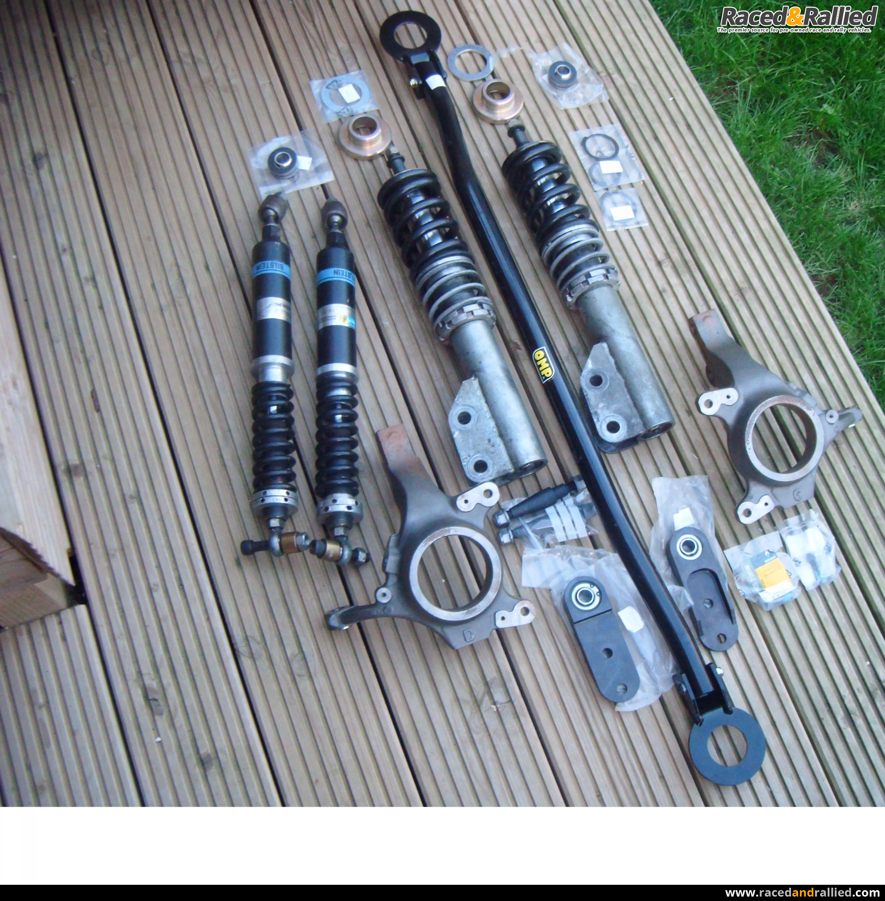Clio Cup Race Car Bilstein Suspension