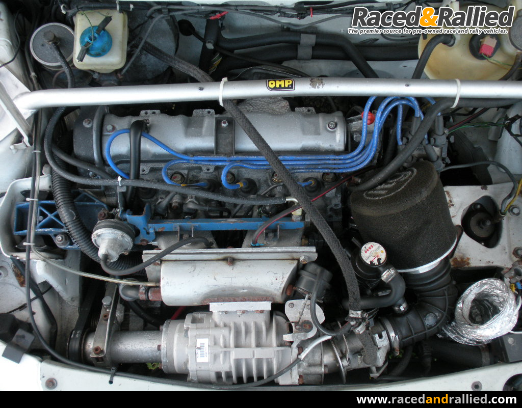 supercharged peugeot 205 1.9gti   performance & trackday cars for