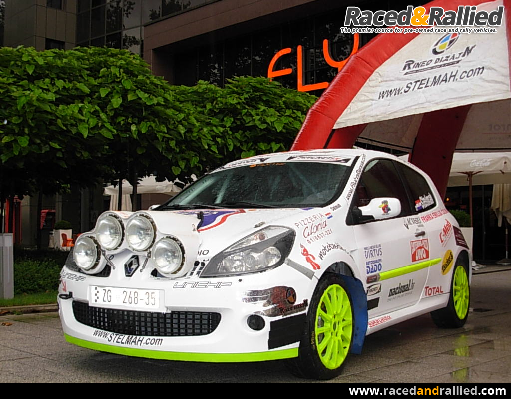 Renault Clio Sport Rally Cars For Sale At Raced