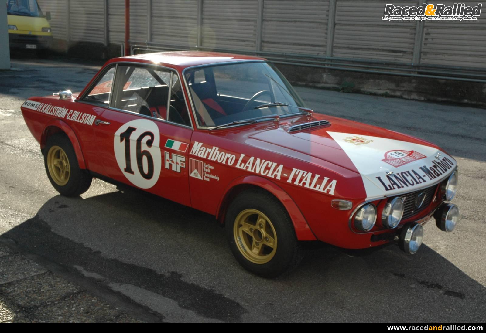 Lancia Fulvia 1.6 HF Marlboro - EX WORKS | Rally Cars for sale at ...