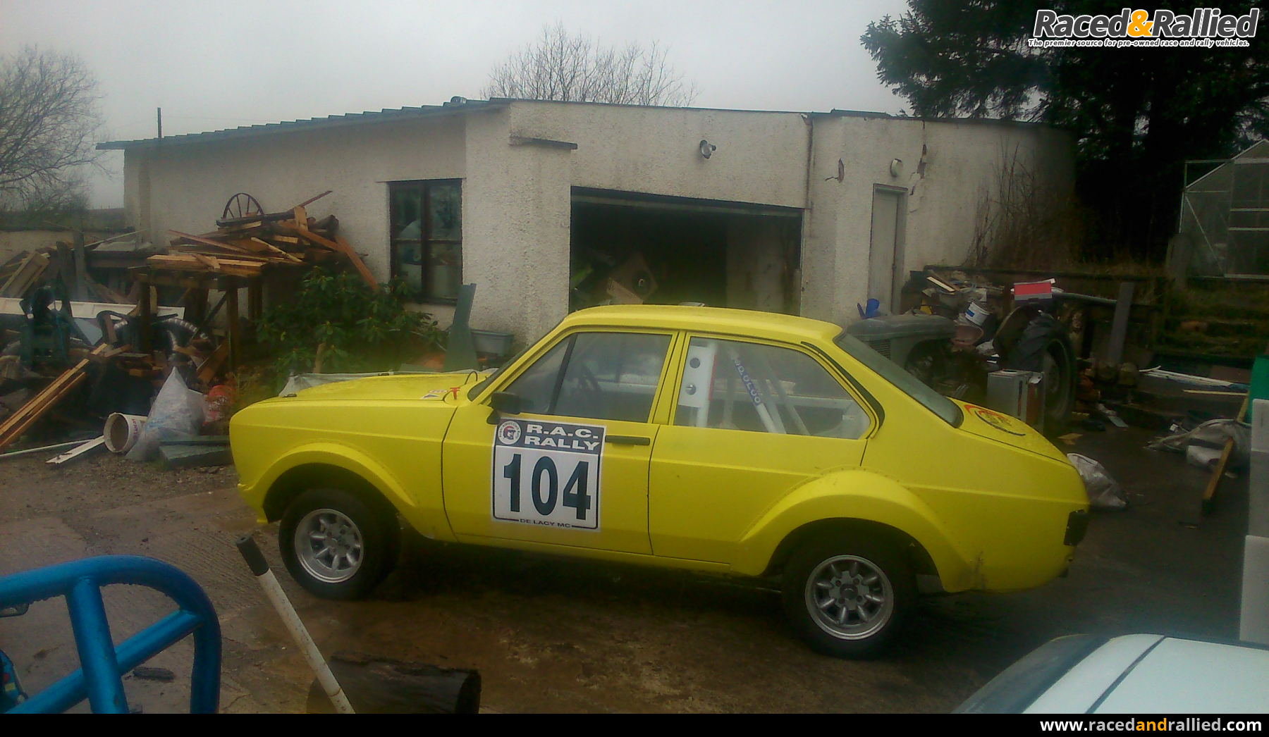 MK2 Escort rally car | Rally Cars for sale at Raced & Rallied ...