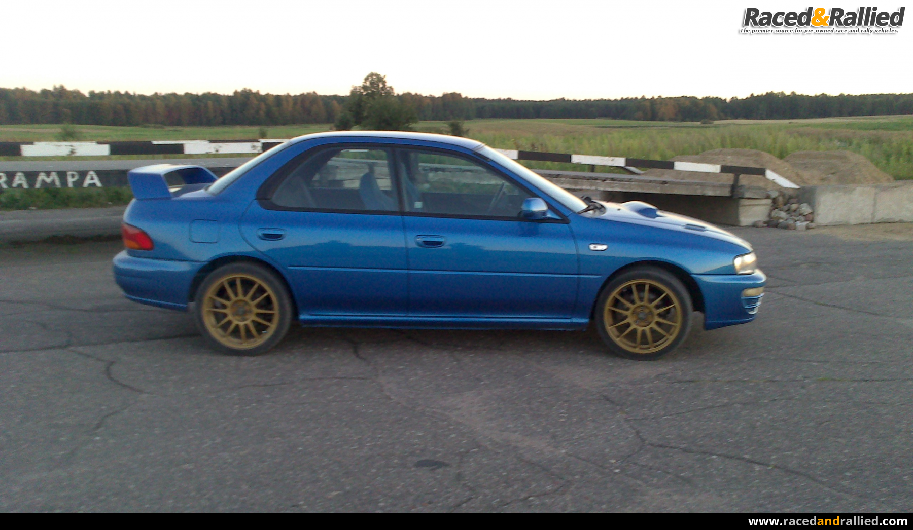 Subaru Wrx Ra Limited Edition Lhd Performance Amp Trackday