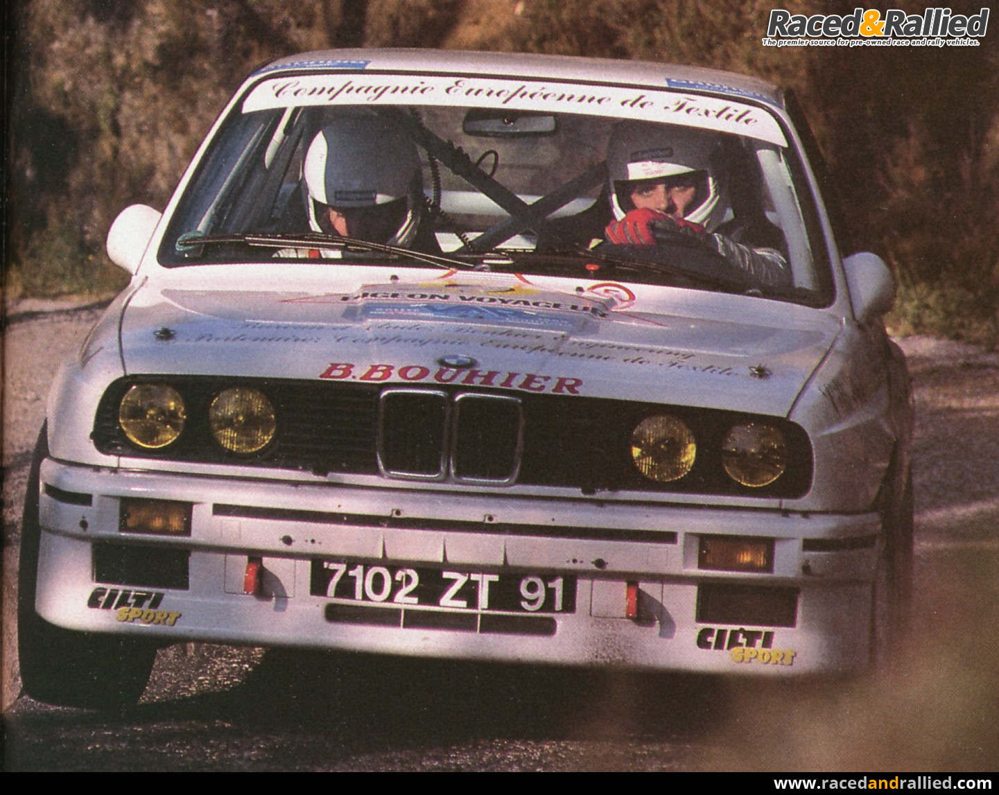 1987 BMW M3 Gr A ex Delecour | Rally Cars for sale at Raced ...