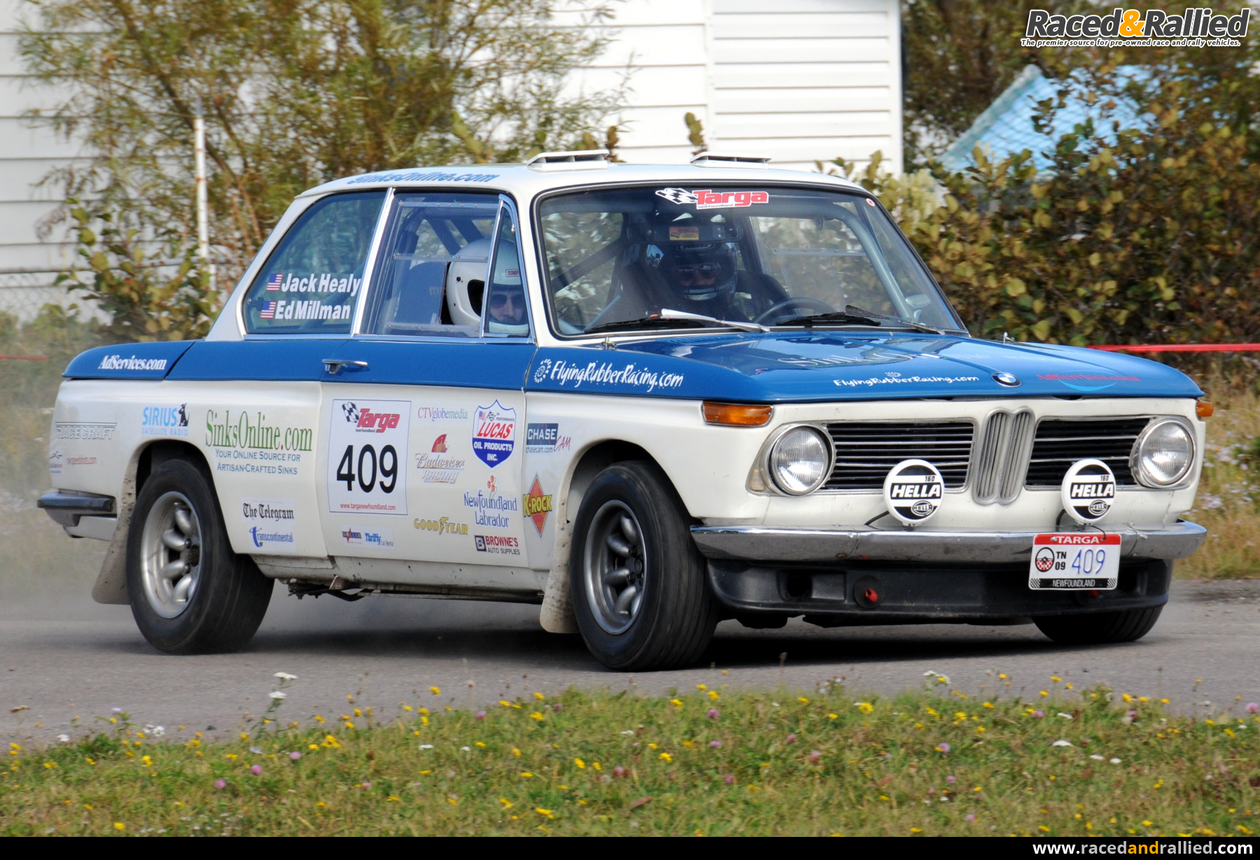 Bmw 2002 Sale >> 1969 BMW 2002 Rally Car | Rally Cars for sale at Raced & Rallied | rally cars for sale, race ...