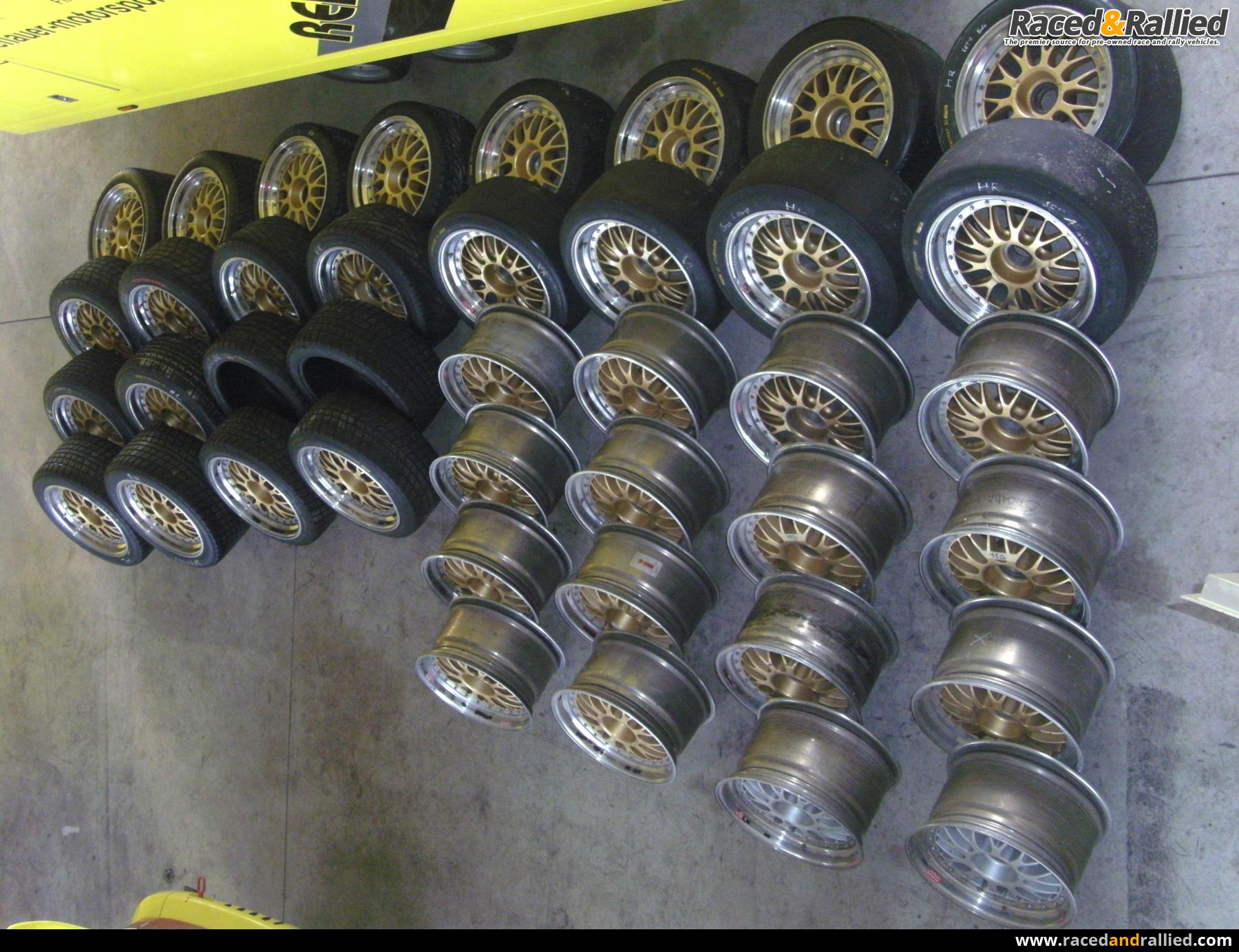Bbs 3 Piece Motorsport Rims Centerlock Race Car Parts
