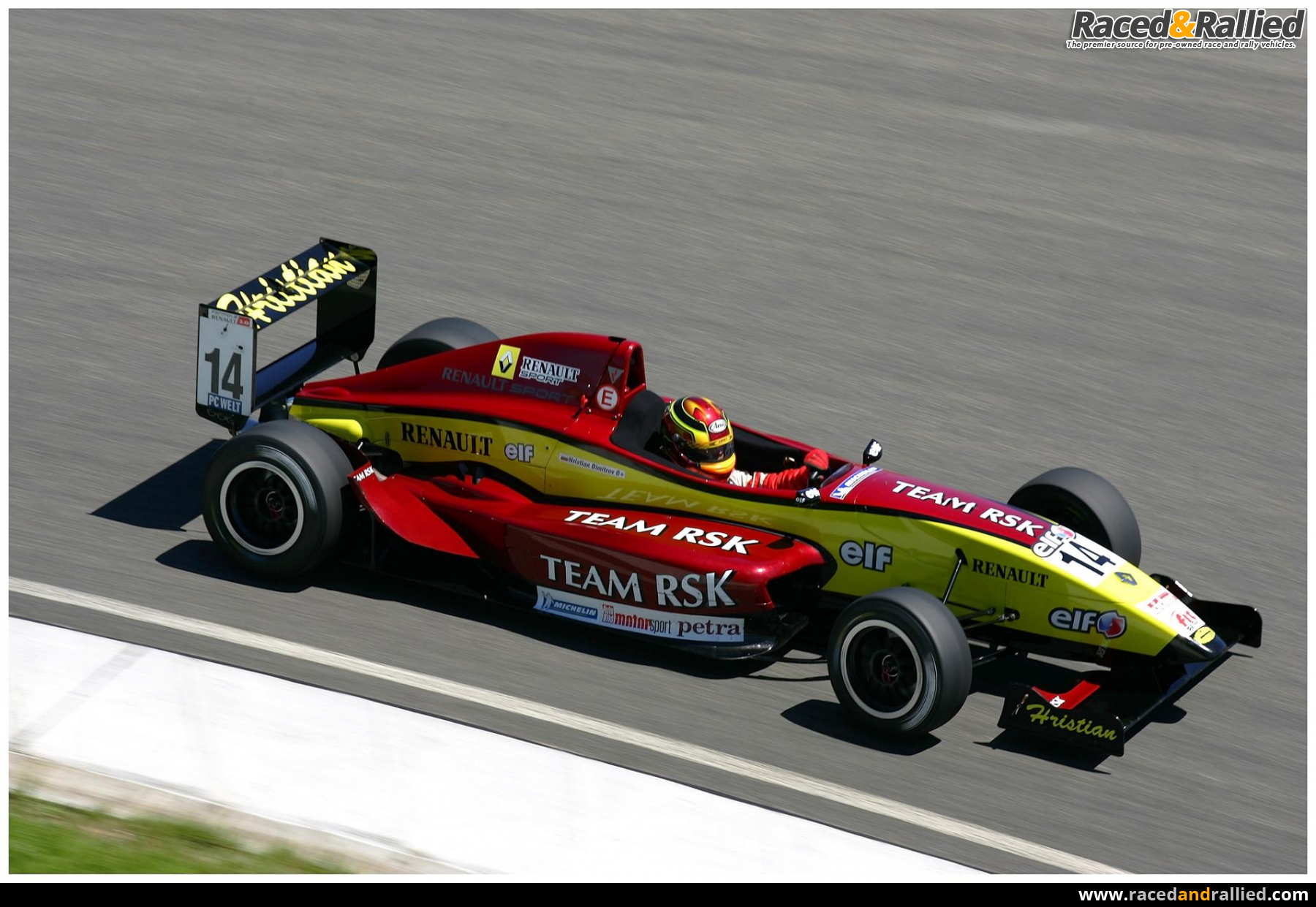 Formula Renault 2 0 For Sale Race Cars For Sale At Raced