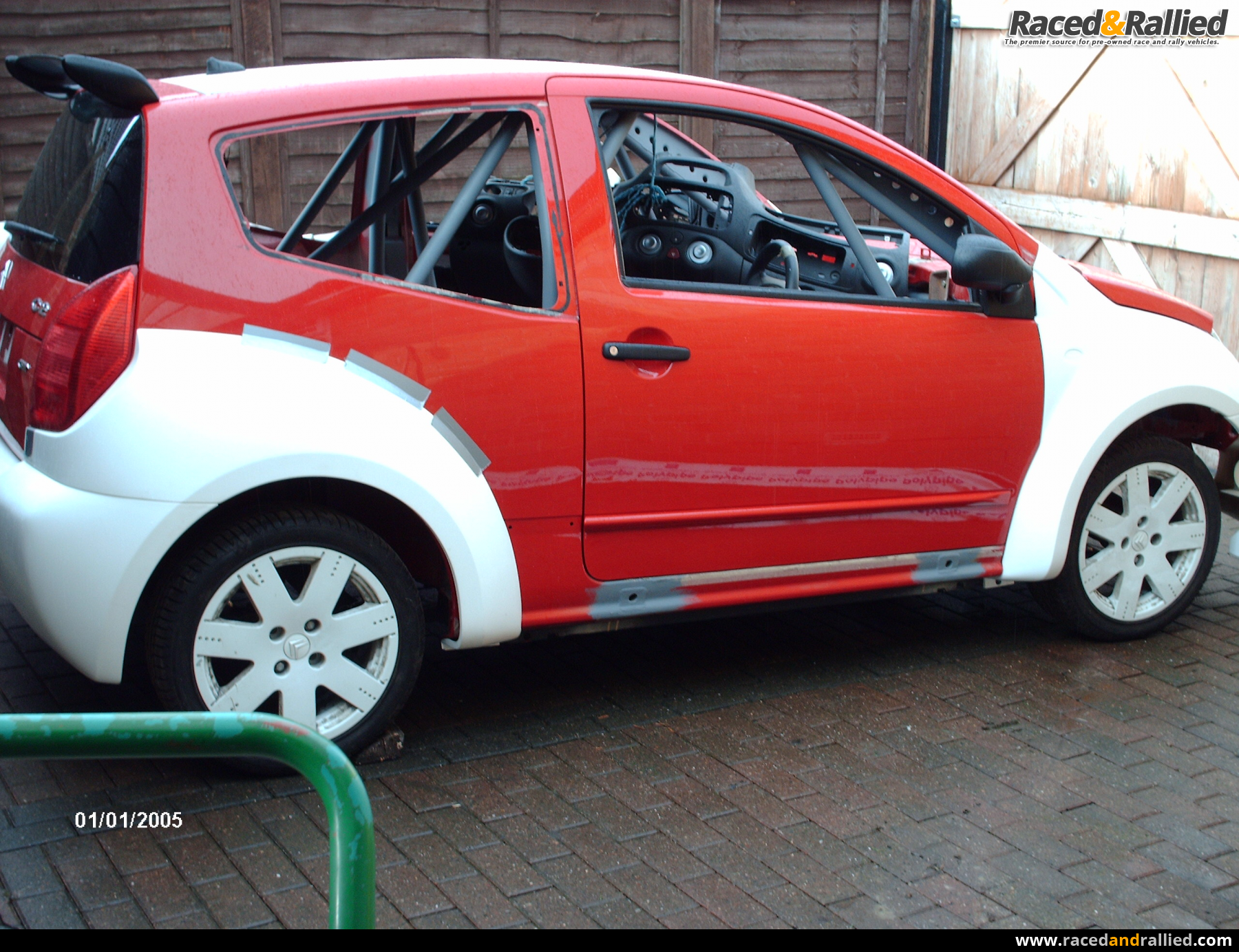 c2 rally car project | Rally Cars for sale at Raced & Rallied ...