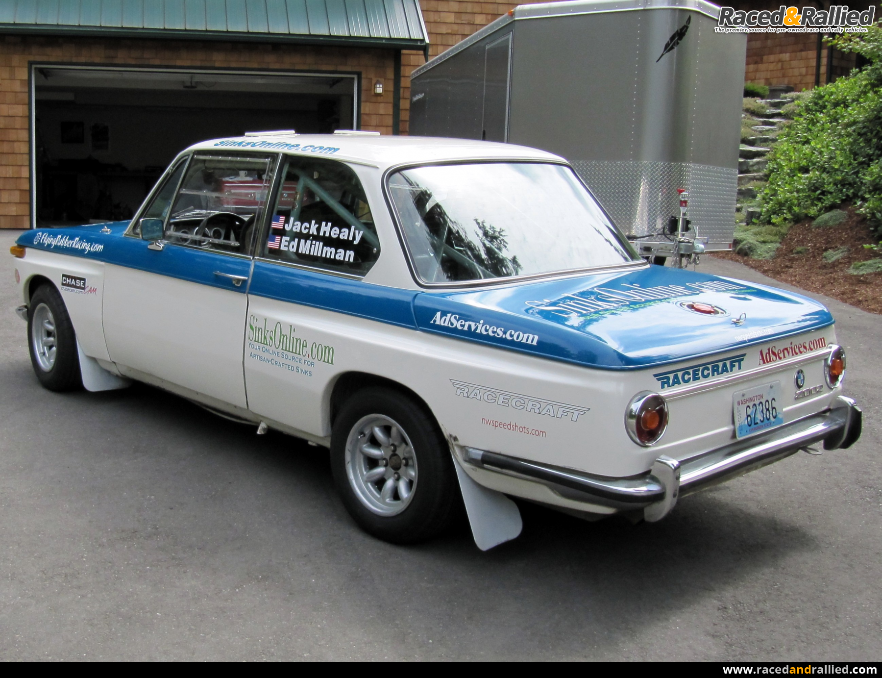 1969 Bmw 2002 Rally Car Rally Cars For Sale At Raced