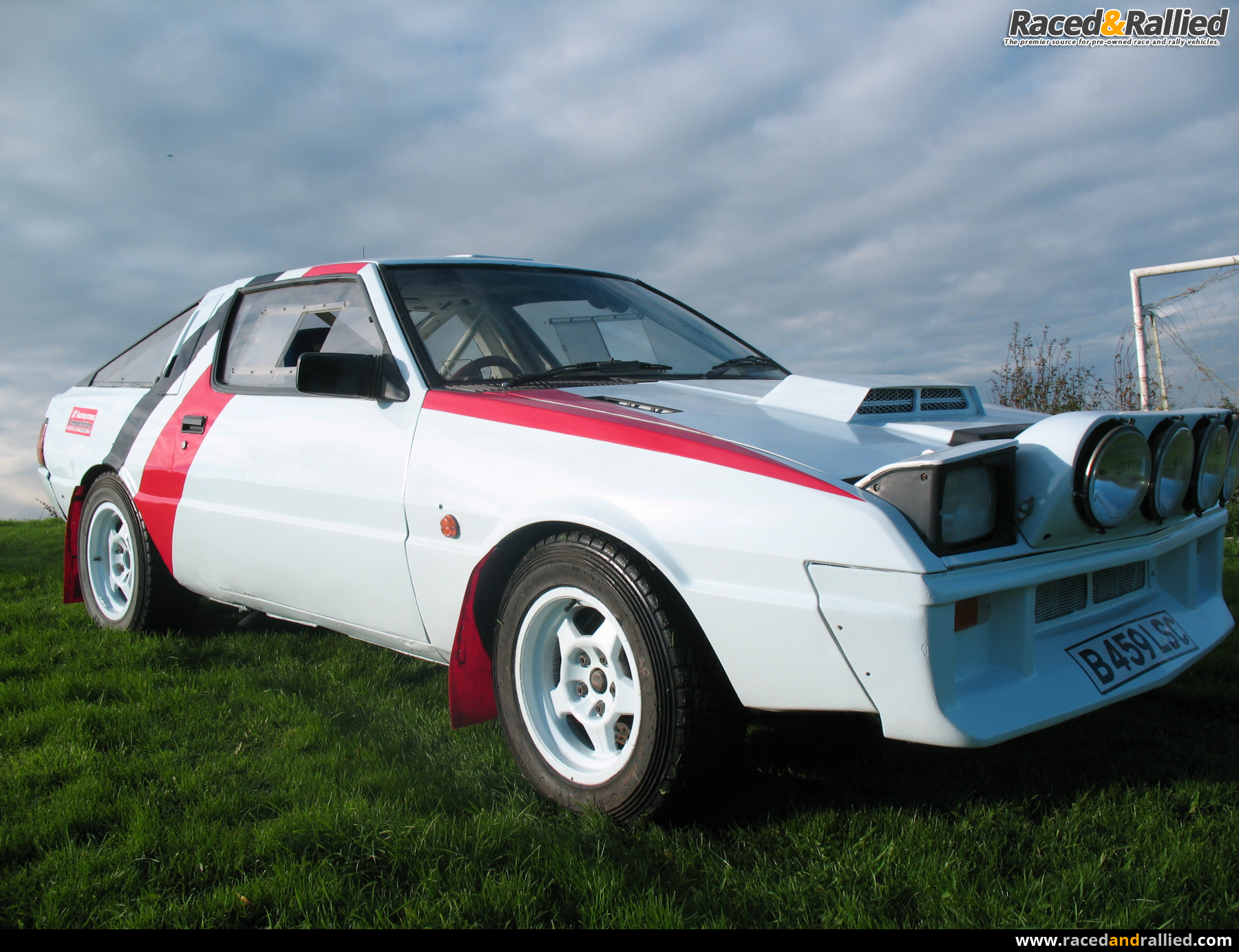 Rac Cars For Sale >> Mitsubishi Starion RALLIART Works spec Rally Car | Rally Cars for sale at Raced & Rallied ...