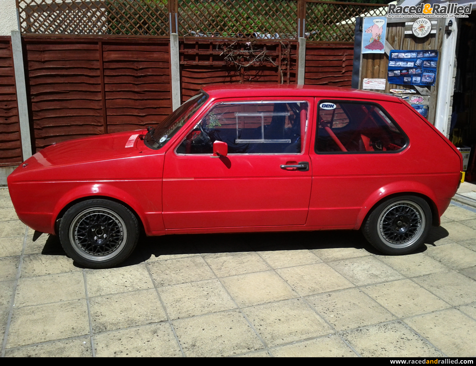 Vintage Vw Parts >> VW Mk1 Golf GTI TRACKCAR / ROAD LEGAL | Performance & Trackday Cars for sale at Raced & Rallied ...