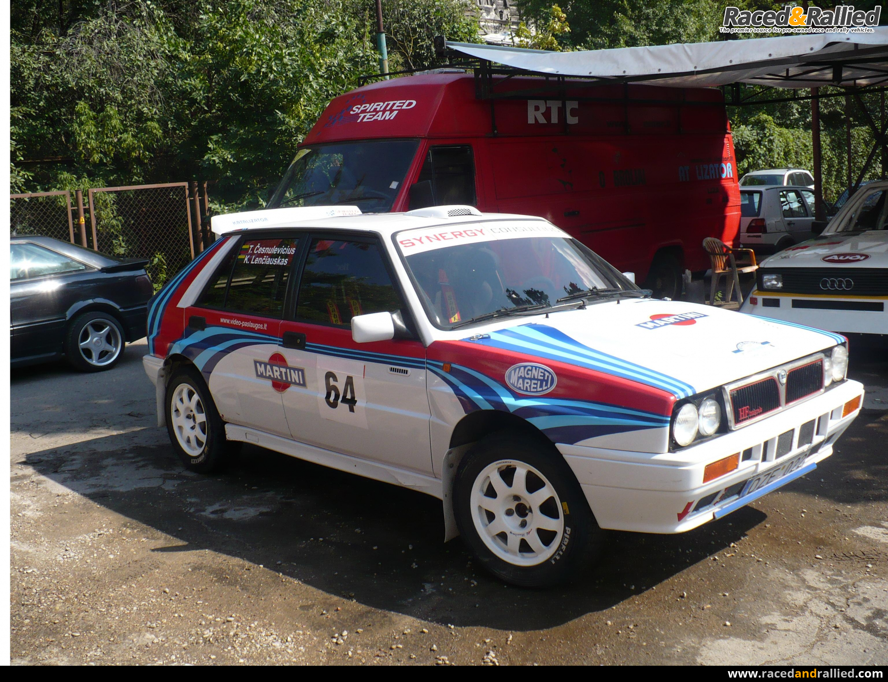Lancia Delta integrale | Rally Cars for sale at Raced & Rallied ...