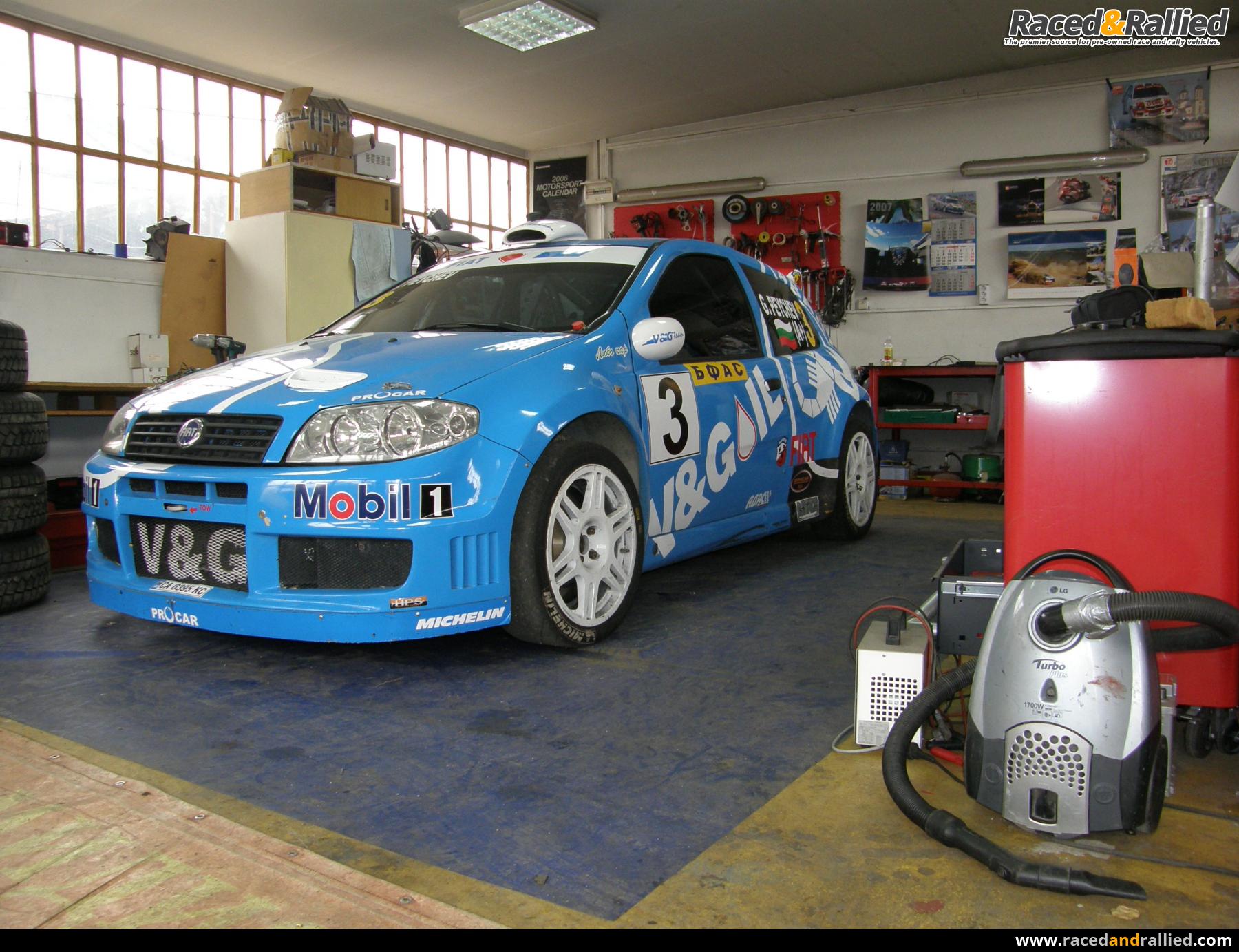Vehicles For Sale: Fiat Punto S1600 Super 1600 2005 Basso