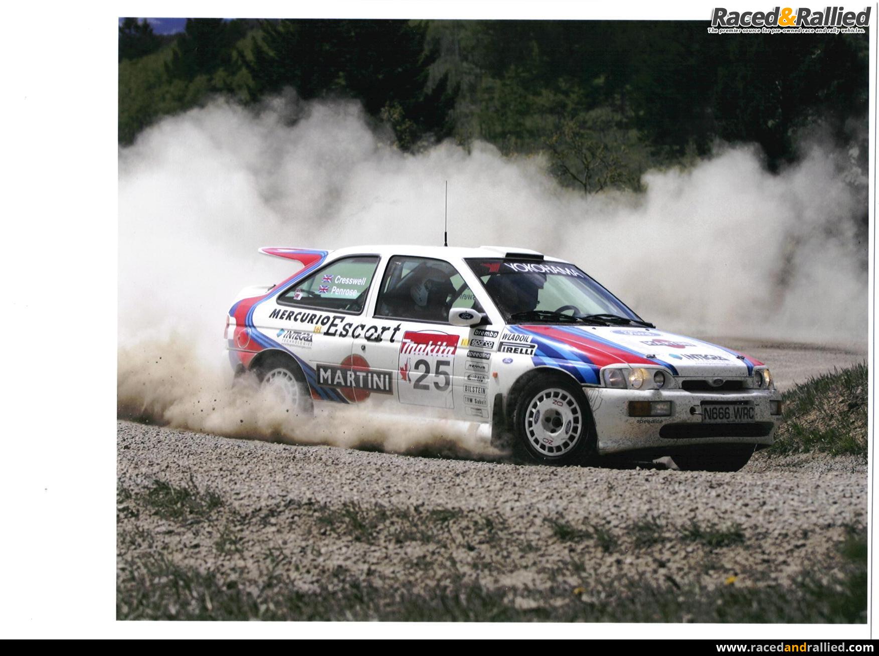 LHD Ex Colin McRae Ford Escort Cosworth Recce Car | Rally Cars for ...
