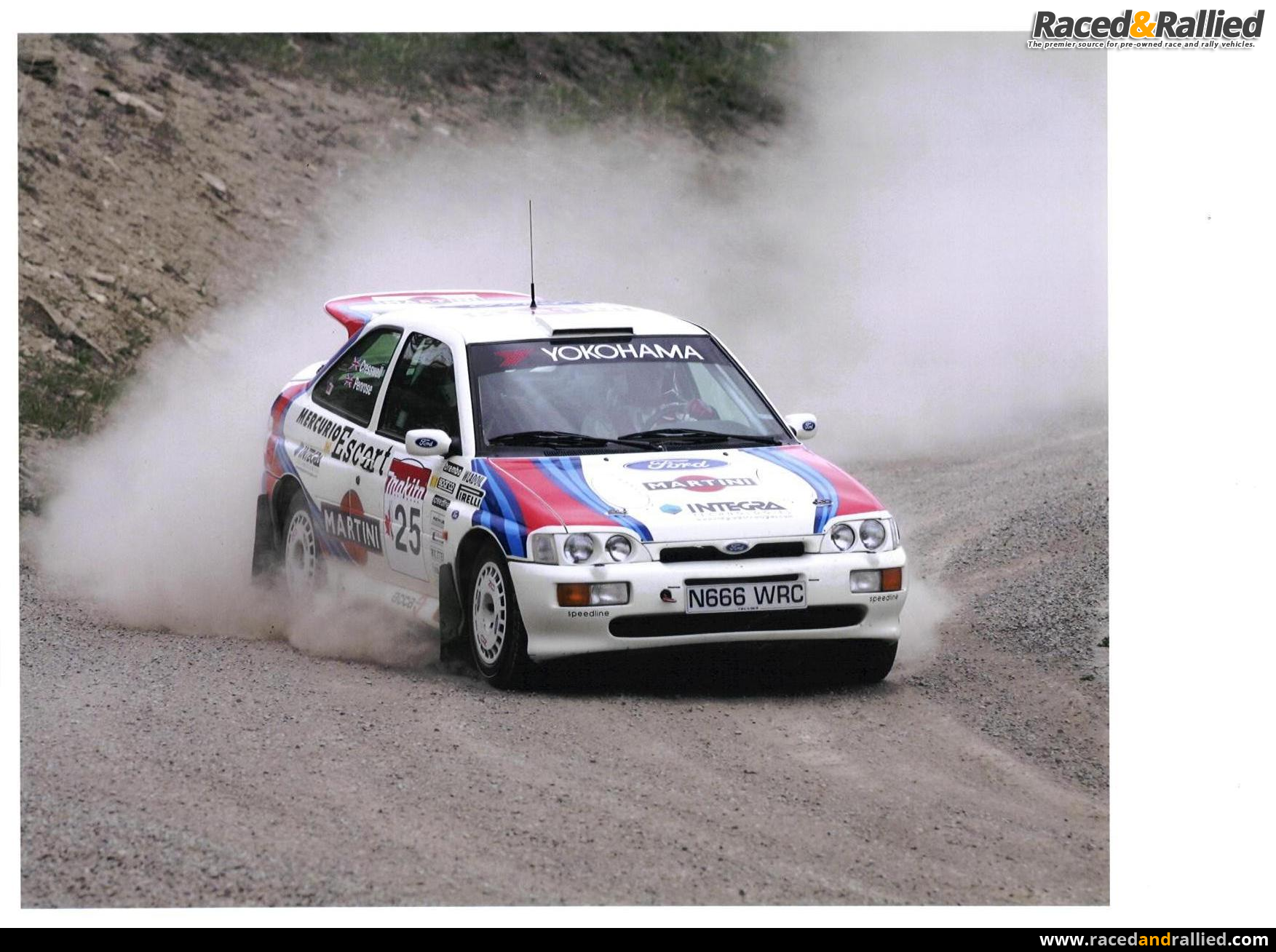 Lhd Ex Colin Mcrae Ford Escort Cosworth Recce Car Rally