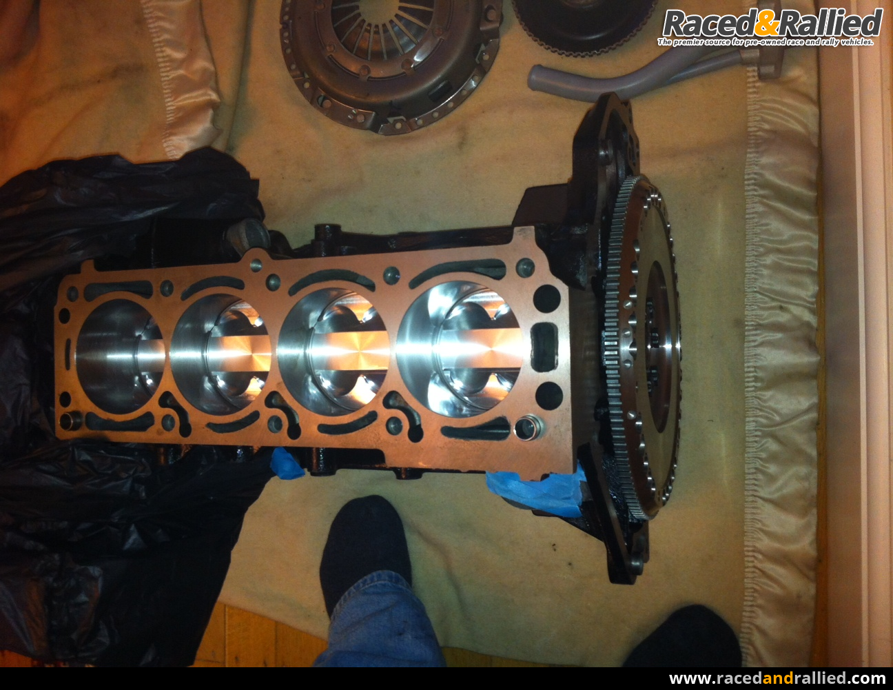 Brand New 2 3 Vauxhall XE Type engine, long steel rods, Cosworth