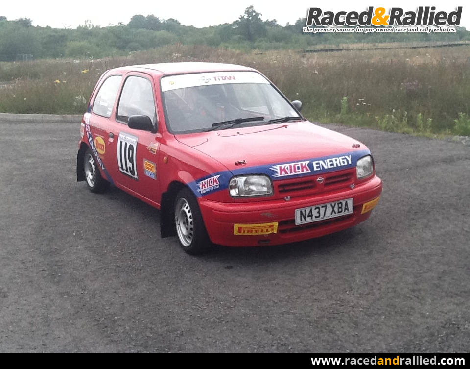 junior/senior rally f1000 nissan micra | Rally Cars for sale at ...
