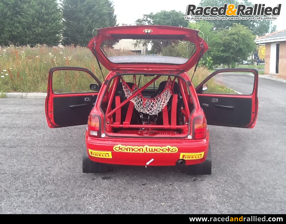 Rally Cars For Sale At Raced: Junior/senior Rally F1000 Nissan Micra