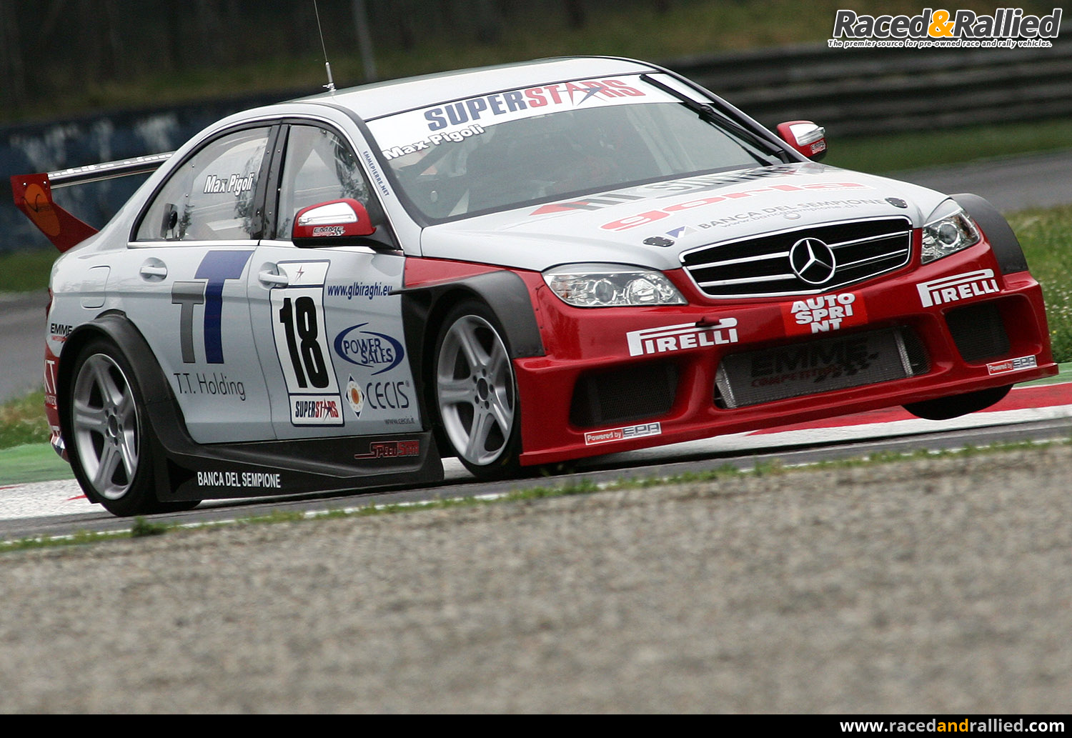 MERCEDES-BENZ C 63 AMG | Race Cars for sale at Raced & Rallied ...