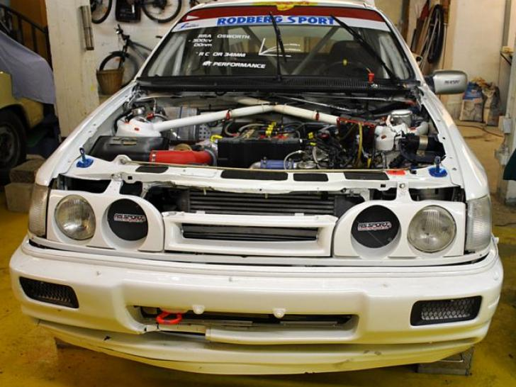 WORKS RALLYCAR FORD SIERRA RS COSWORTH 4X4 GrpA | Rally