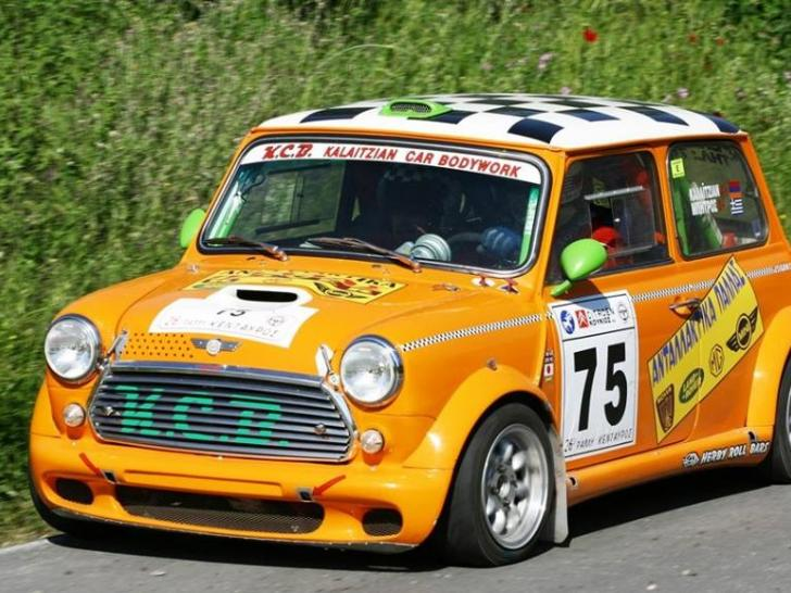 mini cooper mk2 rally cars for sale at raced rallied. Black Bedroom Furniture Sets. Home Design Ideas