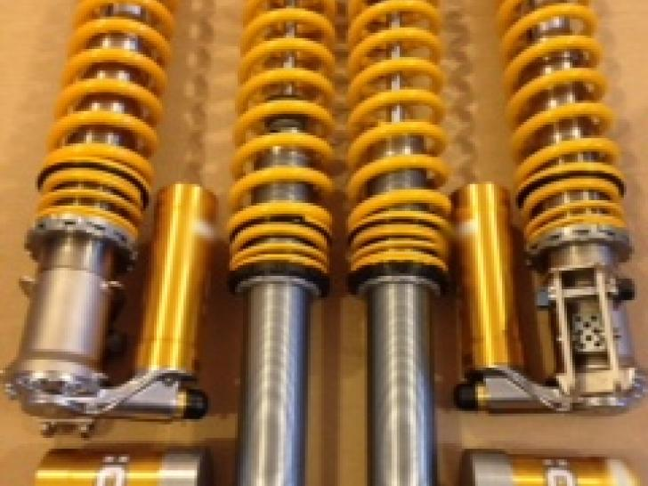 Mitsubishi Evo X Gr R4 Ohlins Gravel Dampers Rally Car