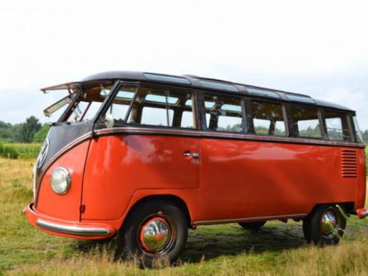 vw t1 samba 23 fenster 1956 classic vintage cars for. Black Bedroom Furniture Sets. Home Design Ideas