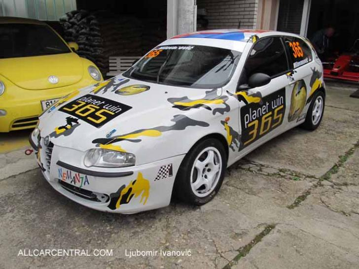Alfa Romeo 147 Sp Race Cars For Sale At Raced Amp Rallied