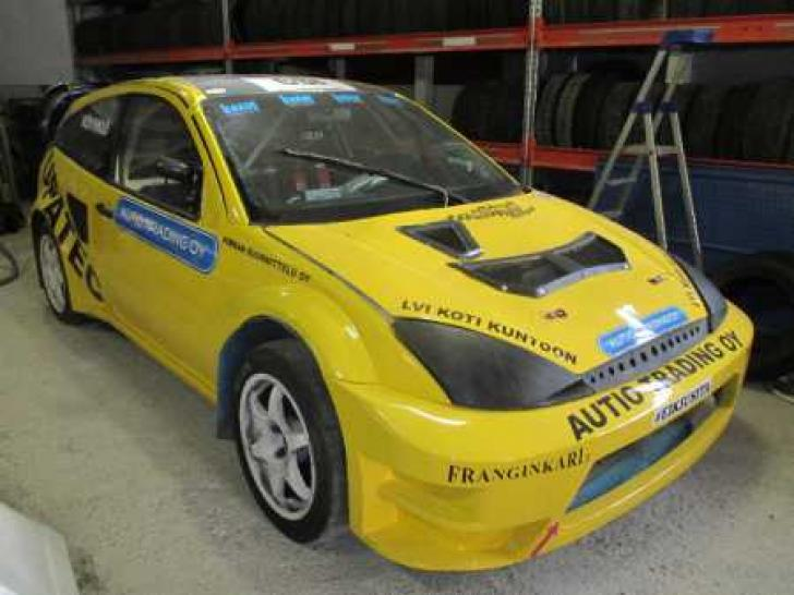 Ford Focus 4 X Wrc Supercar