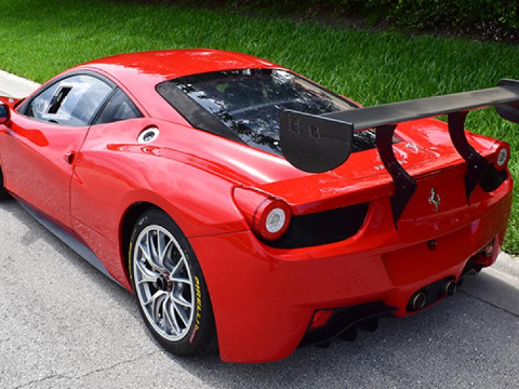 ferrari 458 challenge race cars for sale at raced rallied rally cars for sale race cars. Black Bedroom Furniture Sets. Home Design Ideas