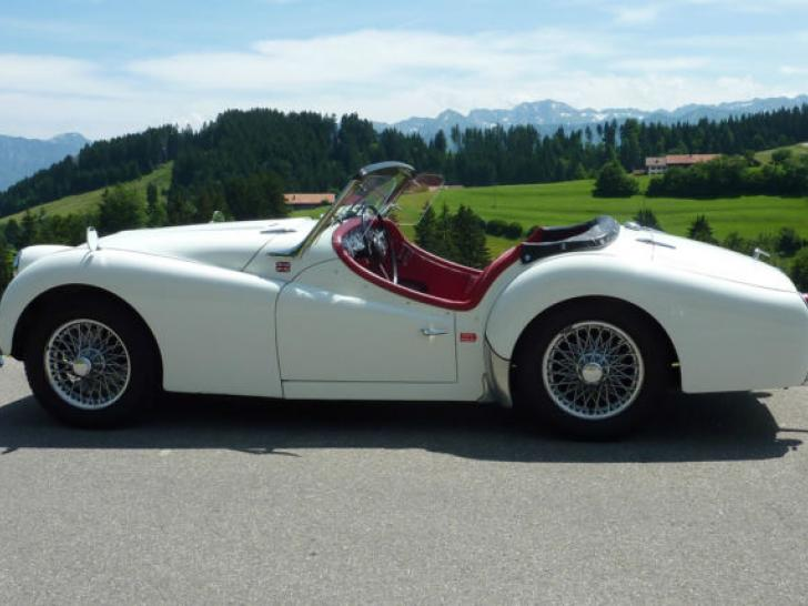 Triumph Tr3a Classic Vintage Cars For Sale At Raced Rallied