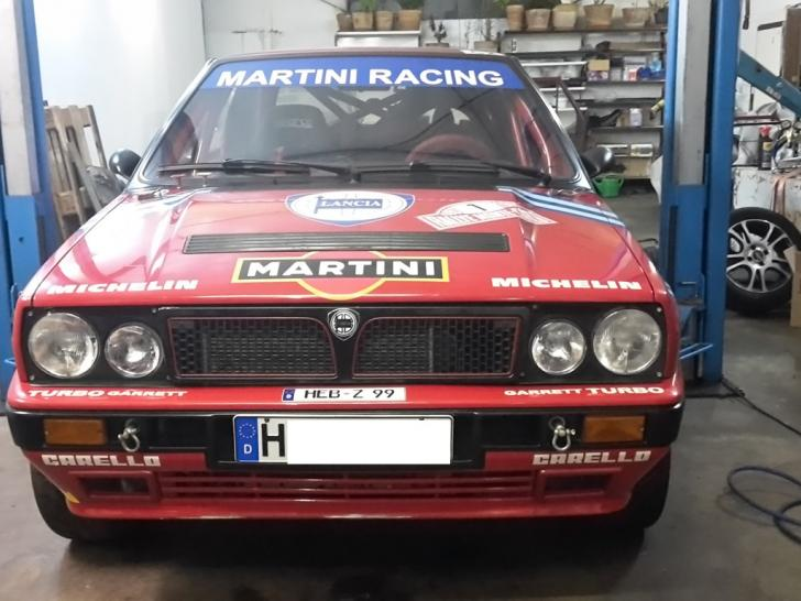 lancia delta hf integrale 16v   rally cars for sale at raced