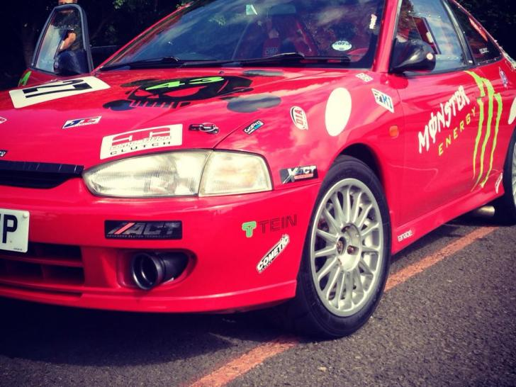 Performance Trackday Cars For Sale At: Rare Mitsubishi Mirage Asti ZR