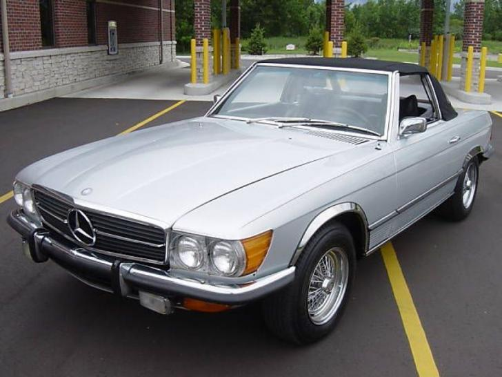 1972 Mercedes 350sl Classic Amp Vintage Cars For Sale At