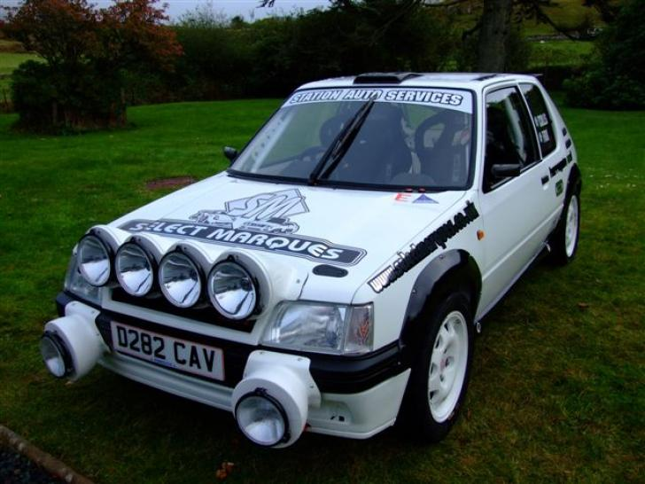 ultimate tarmac 205 Rally Cars for sale at Raced