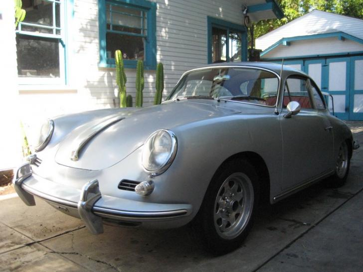 1964 porsche 356 sc project car unfinished classic vintage cars for sale at raced rallied. Black Bedroom Furniture Sets. Home Design Ideas