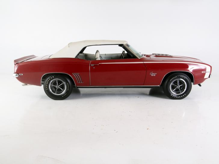 1969 chevrolet camaro rs ss convertible classic vintage cars for sale at raced rallied. Black Bedroom Furniture Sets. Home Design Ideas