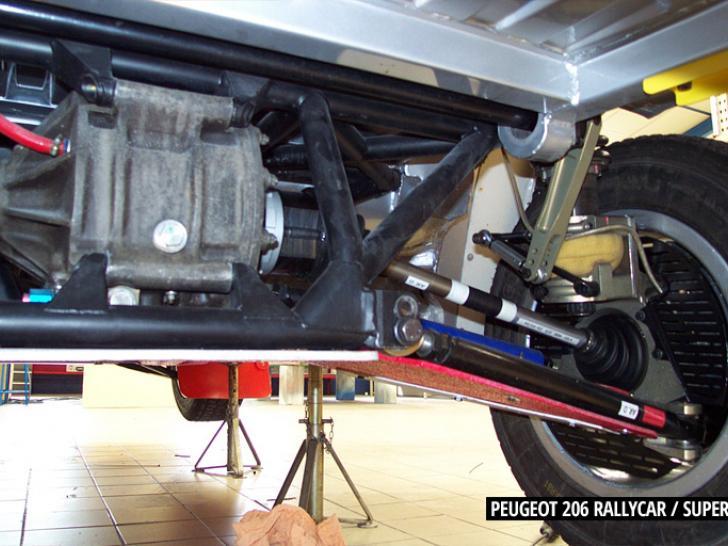 Peugeot 206 rallycar/supercar with Seat Córdoba WRC engine ...