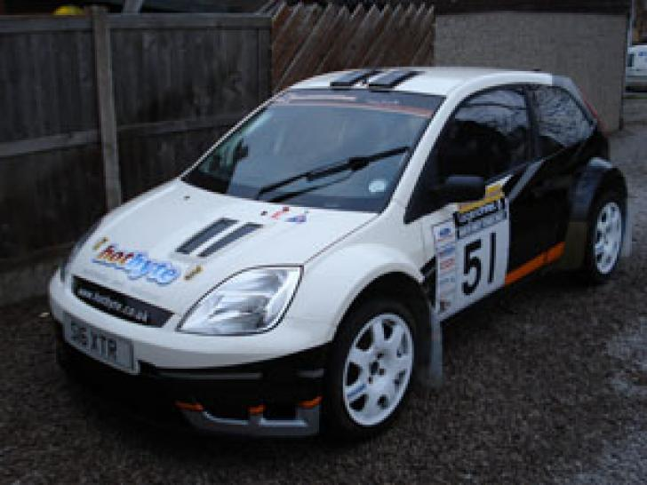 Fiesta R Rally Car For Sale