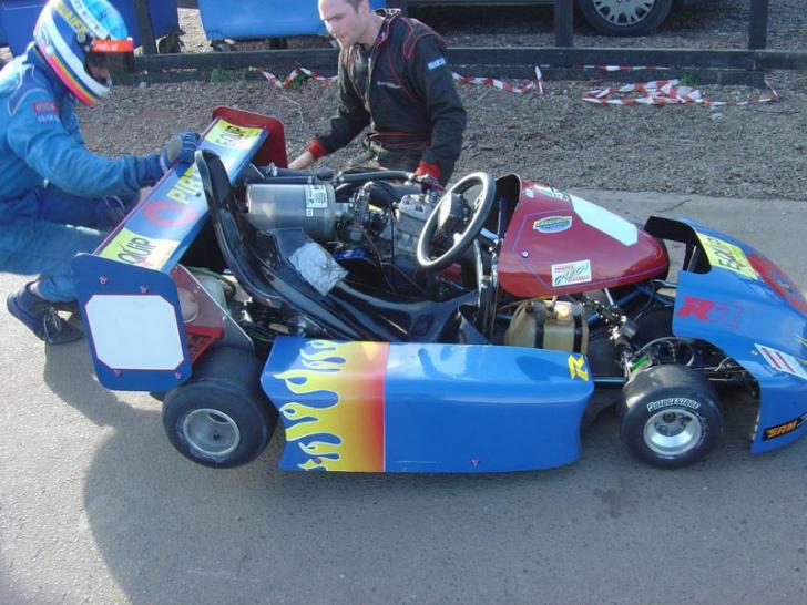 250cc Gearbox Kart - Anderson/KTM | Gearbox karts/shifter ...