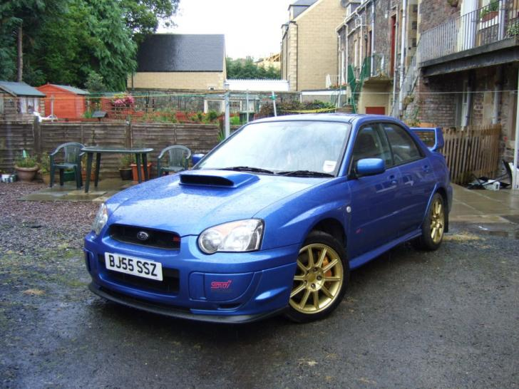 2005 55 modified subaru impreza wrx sti type uk 9995 performance trackday cars for sale. Black Bedroom Furniture Sets. Home Design Ideas